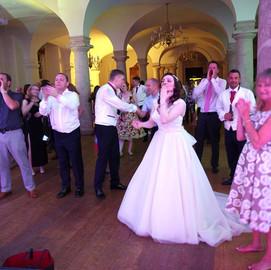 Rebecca a happy bride