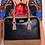 Thumbnail: Cream Leather Laptop bag
