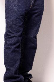 Dark Blue Denim Jeans