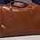 Thumbnail: brown leather carrier bag
