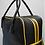 Thumbnail: weekend bag black & gold