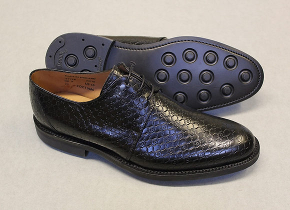 Duccio leather shoes (patterned)