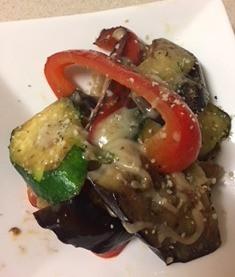 焼き野菜のサラダでアンチエイジング