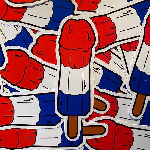 Dicksicle Sticker