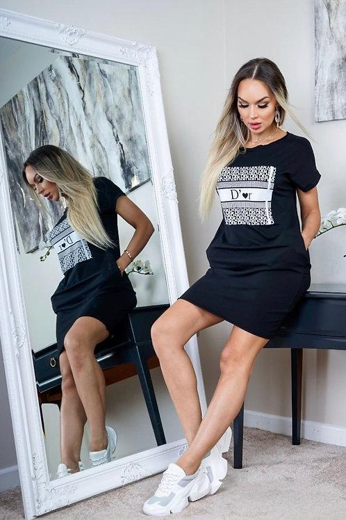 I Love D'or T-Shirt Dress
