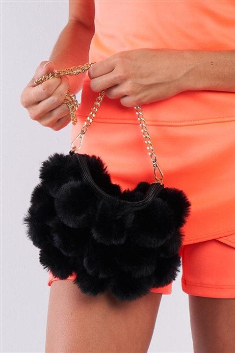 Bella Fur Purse
