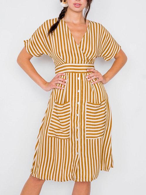 Playful Stripe Dress