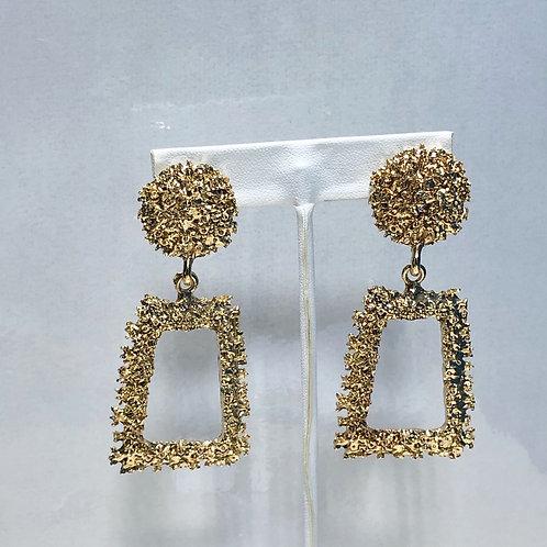 Trapezoid Drop Earrings