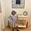 Thumbnail: Girls Heather Grey Ribbed Soft Knit Sweater Dress