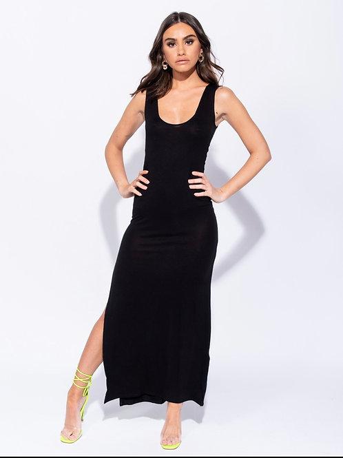 Back To The Basic Maxi Dress