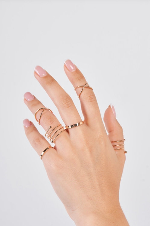 Set of Gold Rings