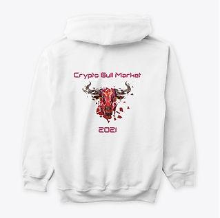 BigskyCrypto Bull Market 2021 hoodie bac
