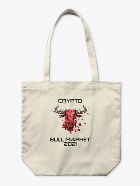 Crypto Bull Market 2021_Organic Totebag.