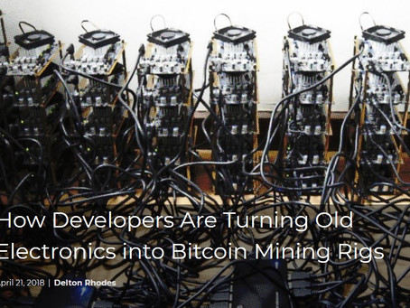 How Developers Are Turning Old Electronics into Bitcoin Mining Rigs