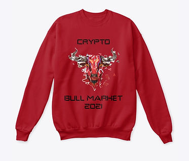 Crypto Bull Market 2021_Classic Crewneck