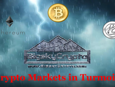 Crypto Markets in Turmoil - My Take on What is Happening - BTC, ETH and LTC Updates