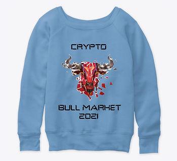 Crypto Bull Market 2021_Womens Slouchy S