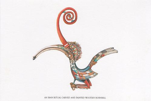 Postcards: Tribal Artifacts Sarawak
