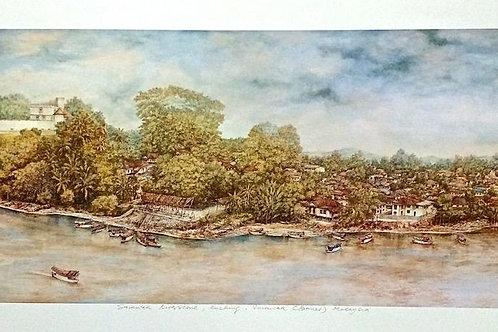 Sarawak River Scene