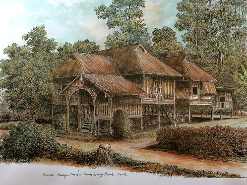 Traditional Malaysia Homes: 1.Perak House A