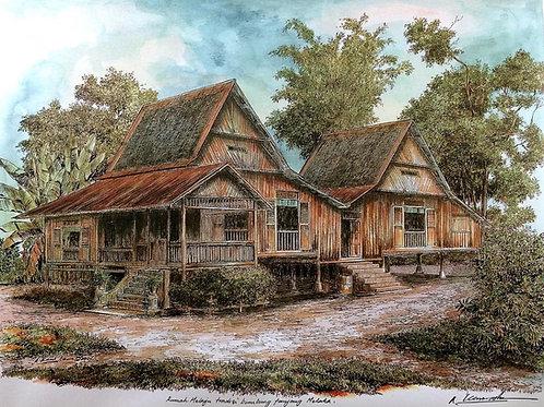 Traditional Malaysia Homes: 2.Melacca House