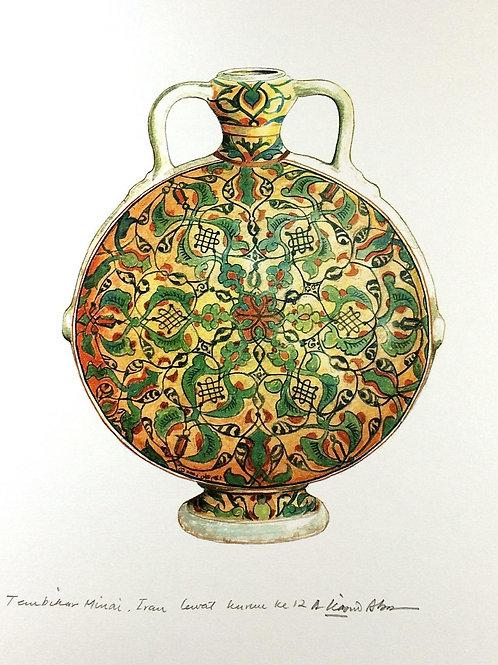 Islamic Vases: 4.Minai Ceramic, Iranian