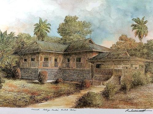 Traditional Malaysia Homes: 7.Johor House