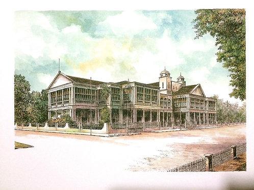 Historical Building of Penang: 4.Penang High Court