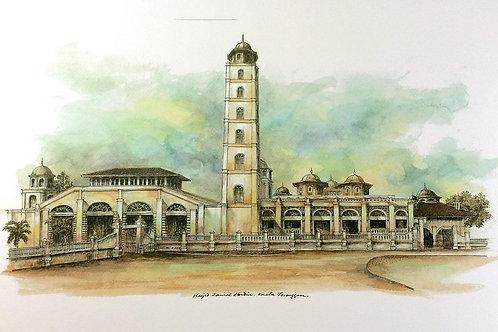 Mosques Of Malaysia : 7.Masjid Abidin, K.Terengganu