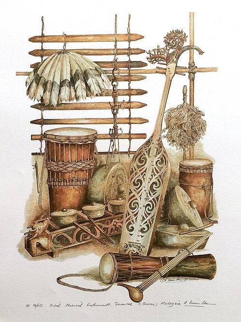 Tribal Artifacts of Borneo : 1.Borneo Tribal Musical Instrument