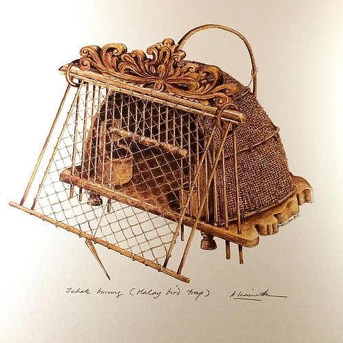 Traditional Malay Artifacts ; 6.Malay Bird Trap