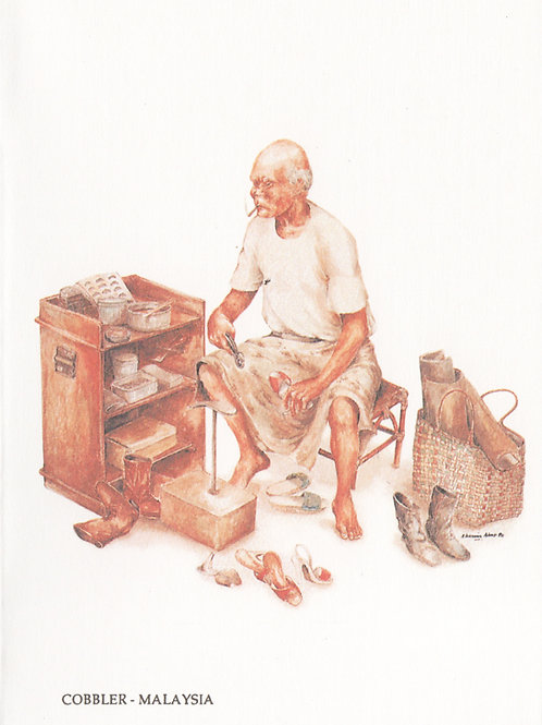 Street Vendors: 6.Cobbler