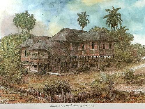 Traditional Malaysia Homes: 4.Perak House B
