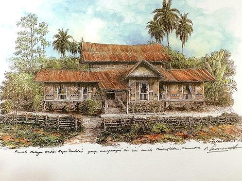 Traditional Malaysia Homes: 6.Negeri Sembilan House