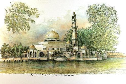 Mosques Of Malaysia : 1.Floating Mosque of Kuala Ibai, K.Terengganu