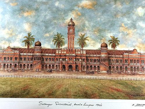 1920's Kuala Lumpur: 3.Kuala Lumpur Secretariat Building