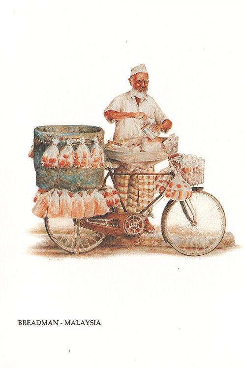 Street Vendors: 4.Trishaw Peddler