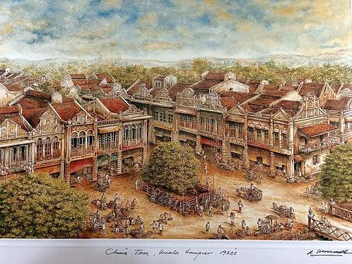 1920's Kuala Lumpur: 1.Kuala Lumpur China Town