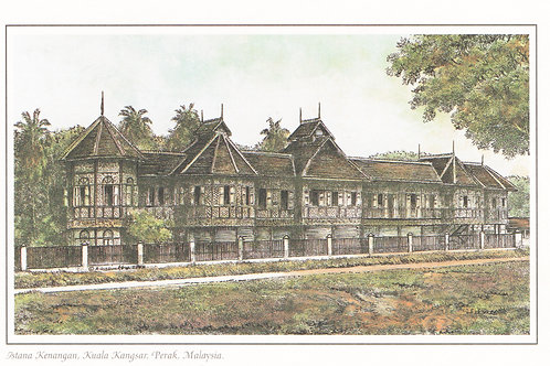 Postcards: Old Palaces Of Malaysia
