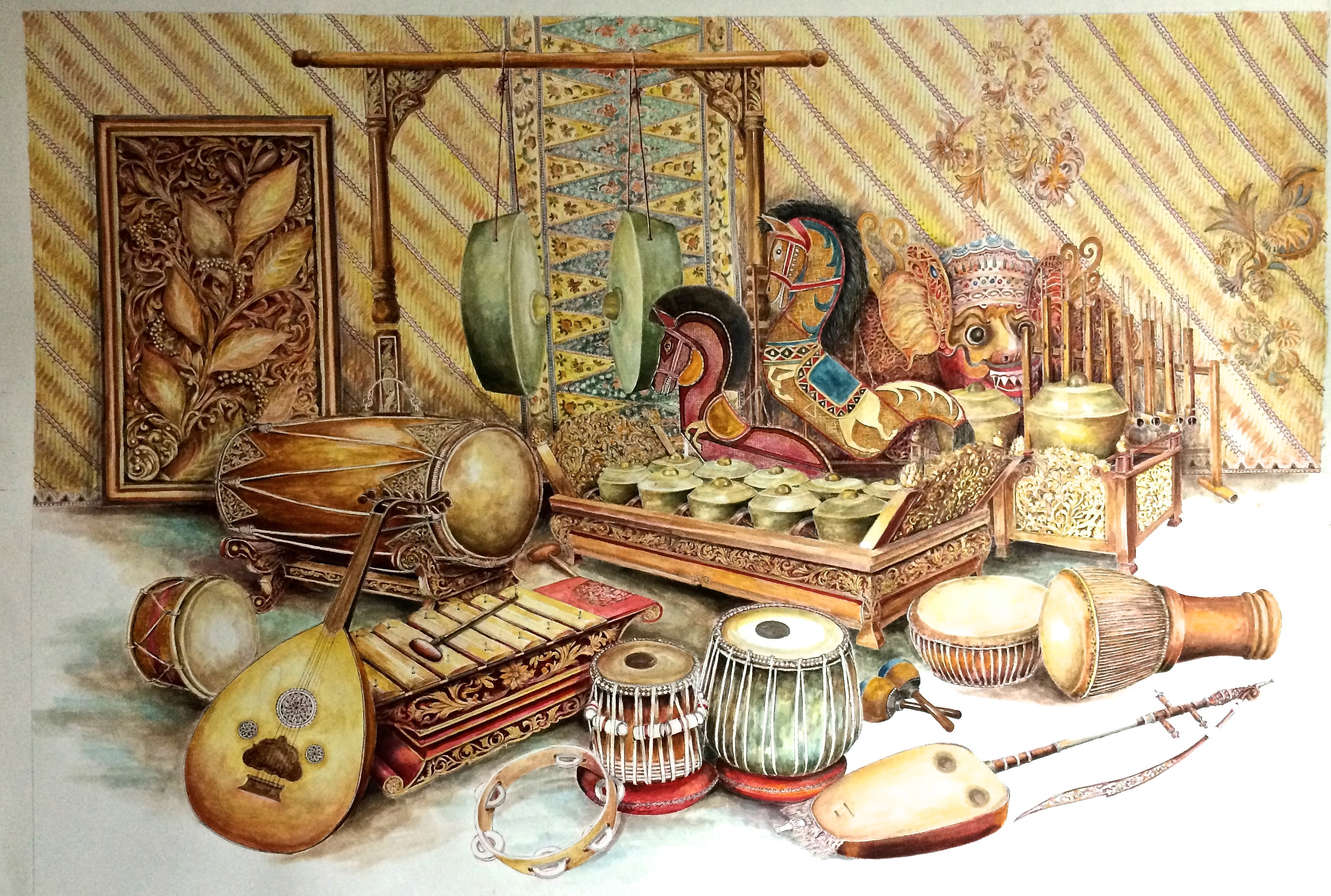 Malaysia musical instruments