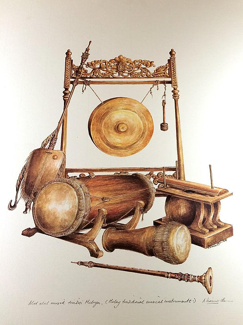 Traditional Malay Artifacts ; 2.Malay Musical Instrument