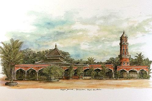 Mosques Of Malaysia : 8.Masjid Jamek, Seremban