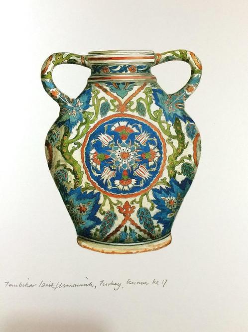Islamic Vases 8iznik Ceramic Vase Ottoman