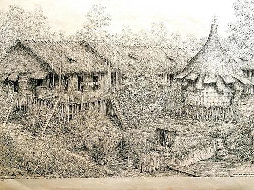 Bidayuh Long House