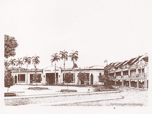 Postcards: Historical building of Malaysia