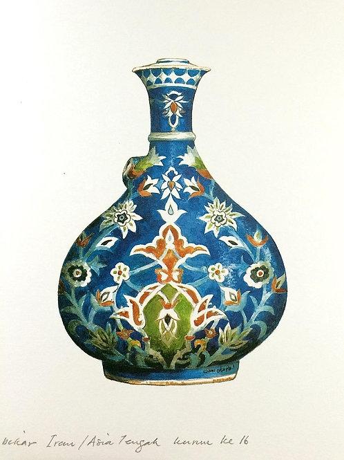 Islamic Vases: 9.Iranian Ceramic, Central Asia