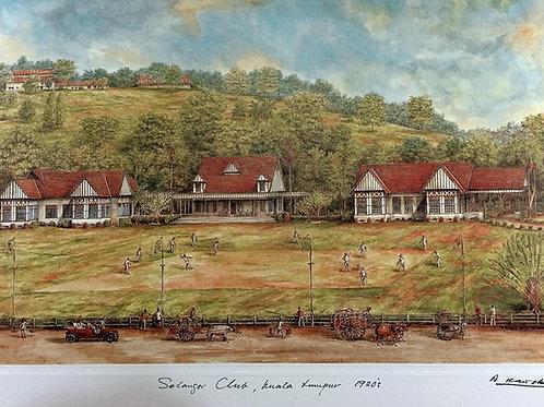 1920's Kuala Lumpur: 4.Kuala Lumpur Selangor Club