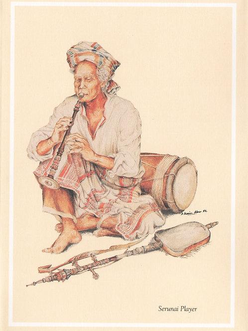 Traditional Musician and Malay Past Time Craft : 2.Malay Serunai Player