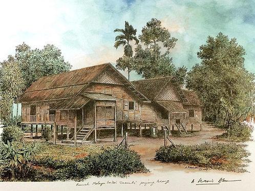 Traditional Malaysia Homes: 3.Pahang House