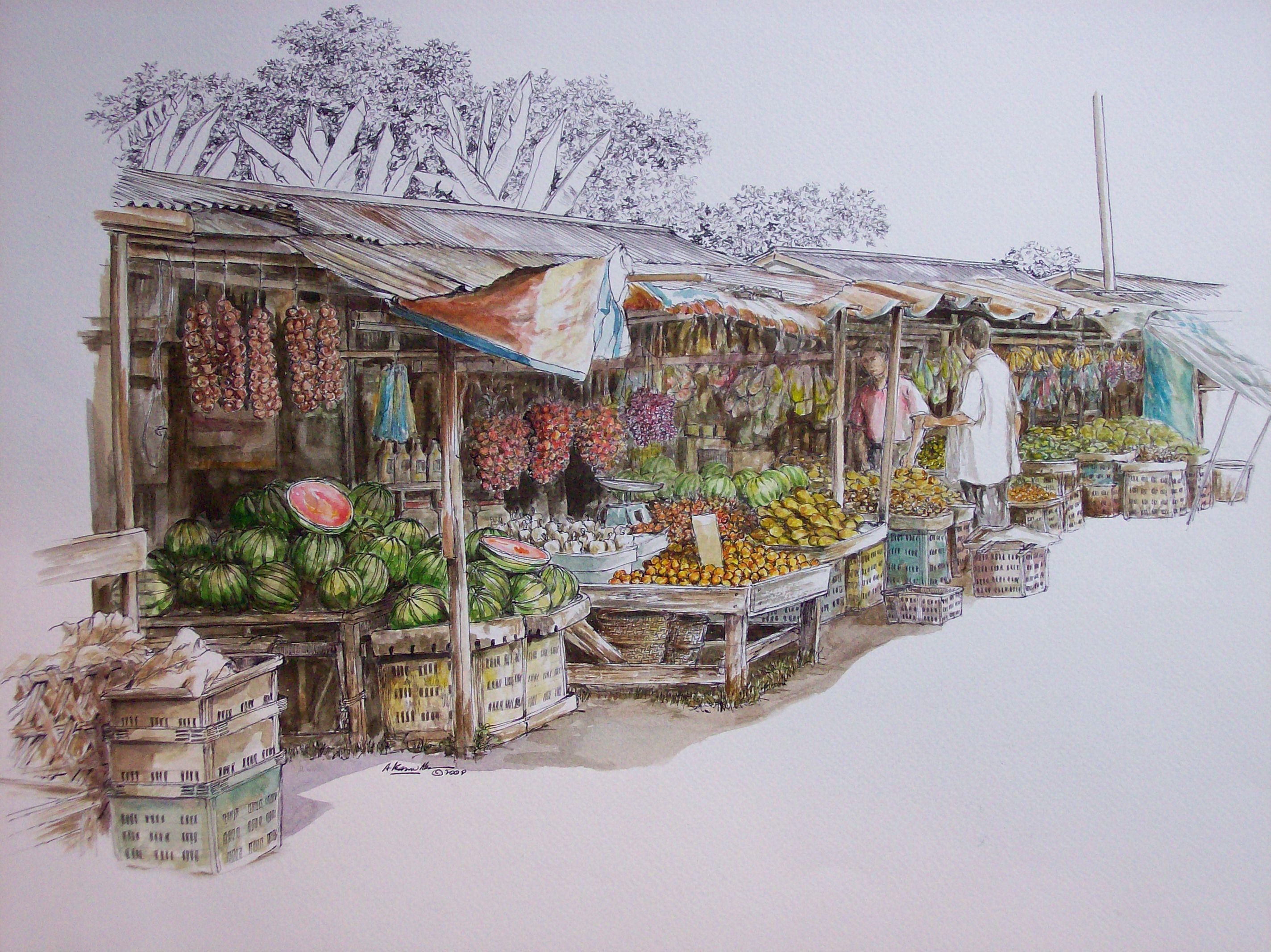 market street painting